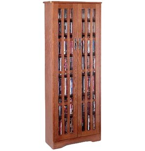 Glass Door Tall Multimedia Cabinet By Loon Peak