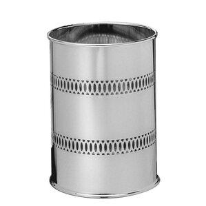metal waste basket