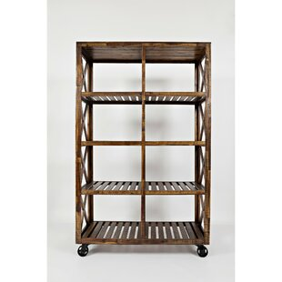 Alasdair Trolley Bar Cart by 17 Stories