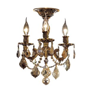 Astoria Grand Utica 3-Light Candle Style Chandelier