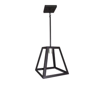 Mogos 1-Light Square/Rectangle Pendant by Union Rustic