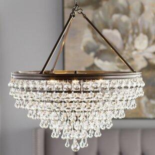 Best Reviews Devanna 8-Light Chandelier By Willa Arlo Interiors