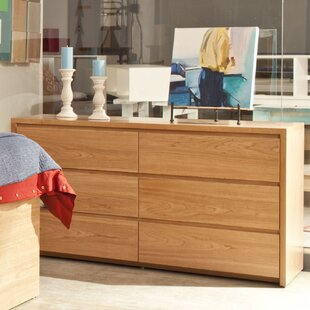 Kadon 6 Drawer Double Dresser by Orren Ellis Great Reviews