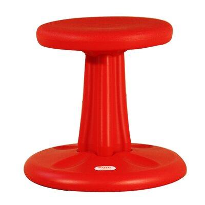 Wondrous Kore Design Wobble Kids Stool Color Red Size 16 H X 14 W X 11 D Inzonedesignstudio Interior Chair Design Inzonedesignstudiocom