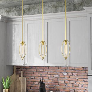 Best Choices Boylon 3-Light Kitchen Island Pendant By Trent Austin Design