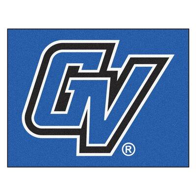 Collegiate NCAA Grand Valley State University Doormat FANMATS Mat Size: Rectangle 2'10