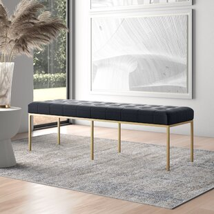 Zephyr Leather Bench by ARTERIORS Today Only Sale