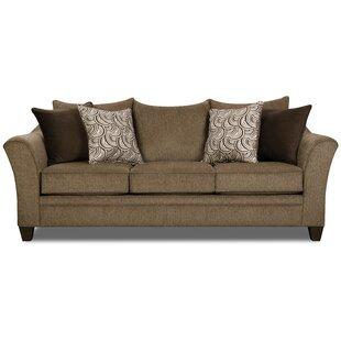 Wrought Studio Simmons Upholstery Woodbridge Sleeper Sofa
