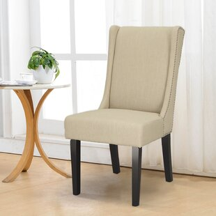 Fabric Side Chair (Set Of 2) by Adeco Trading Find