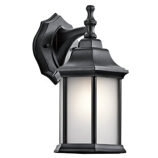 Bayou Outdoor Wall Lantern by Three Posts