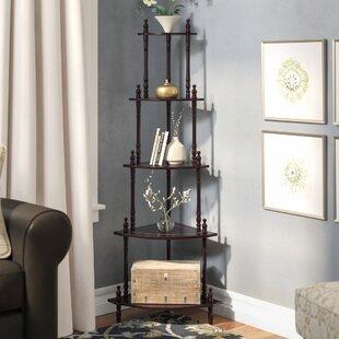 Chaundeler Corner Unit Bookcase By Charlton Home