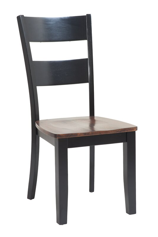 Jesenof Ladder Back Solid Wood Dining Chair