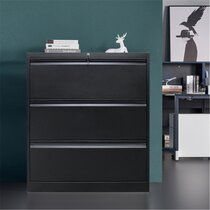 Details about  /3 Drawer Mobile File Cabinet w// Lock Fully Assembled /& Casters Letter//Legal Size
