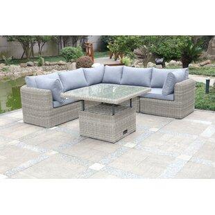 Eriberto 5 Seater Rattan Corner Sofa Set By Sol 72 Outdoor