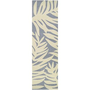 Wallingford Hand-Hooked Gray/Beige Indoor/Outdoor Area Rug