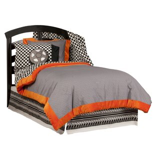 Teyo's Tires 3 Piece Reversible Comforter Set by One Grace Place