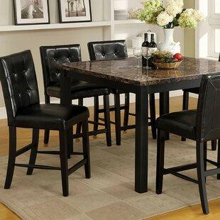 Comparison Toulouse 7 Piece Pub Table Set ByAlcott Hill