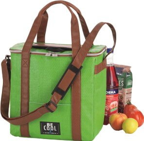 Travelbox Cool Bag In Green By Symple Stuff