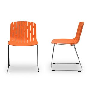 Read Reviews Patty Dining Chair (Set of 2) by Brayden Studio