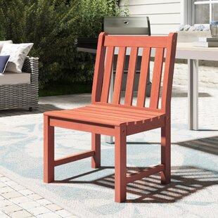 Beachcrest Home Monterry Teak Patio Dining Chair