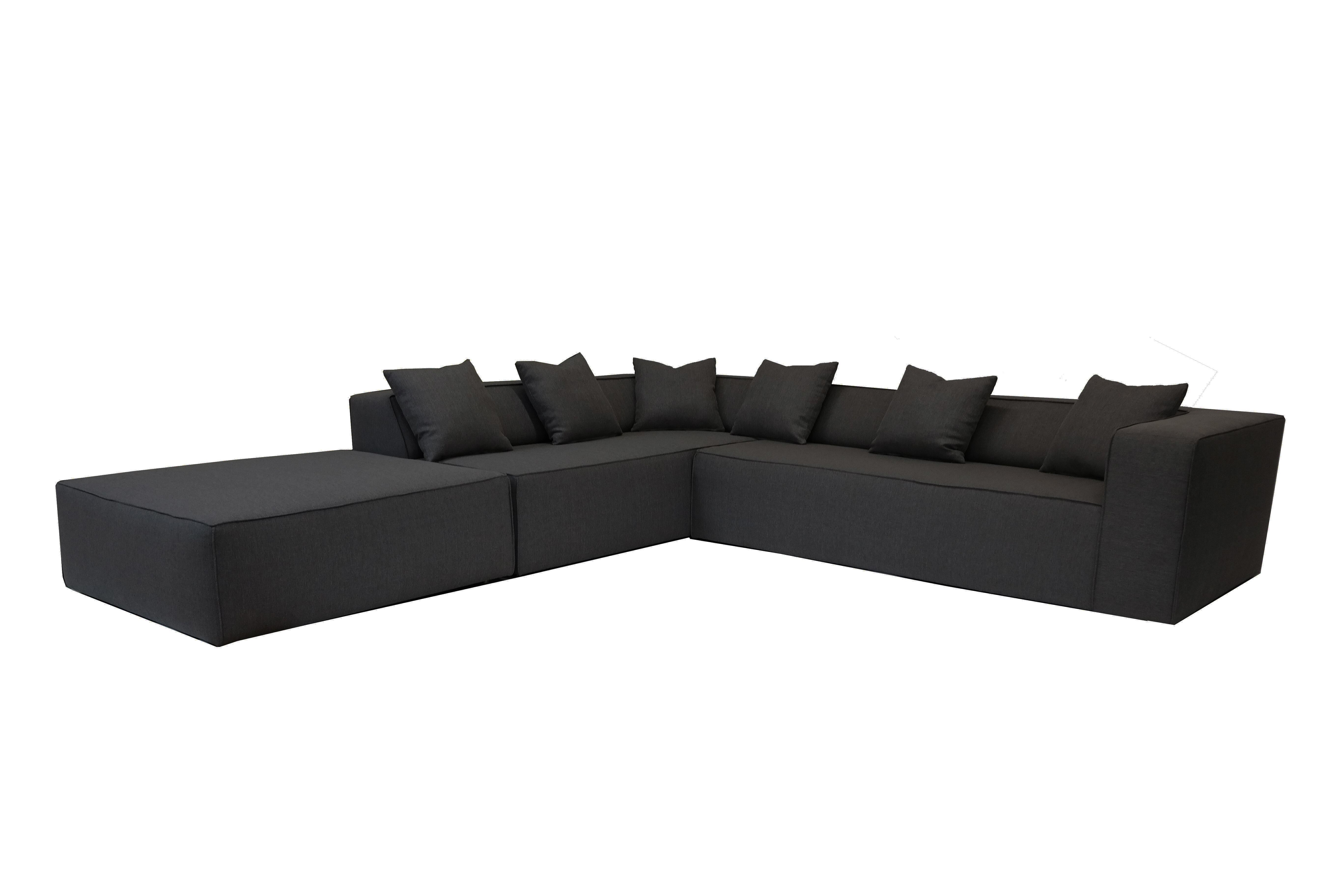 Groovy Box Sectional With Ottoman Beatyapartments Chair Design Images Beatyapartmentscom