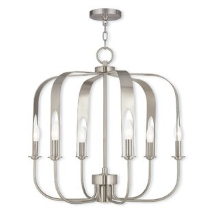 Lawrence 7-Light Foyer Chandelier by Latitude Run