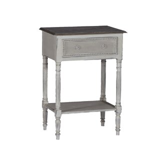 Gabby Carine End Table with Storage