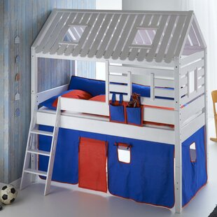 Review Castile European Single Mid Sleeper Bed With Roof