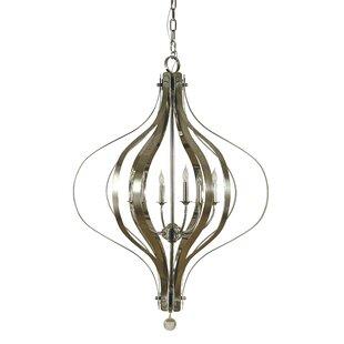 Aries 6-Light Foyer Pendant by Framburg
