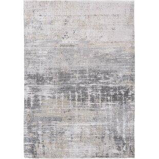 Atlantic Streaks Grey Rug by Louis de Poortere