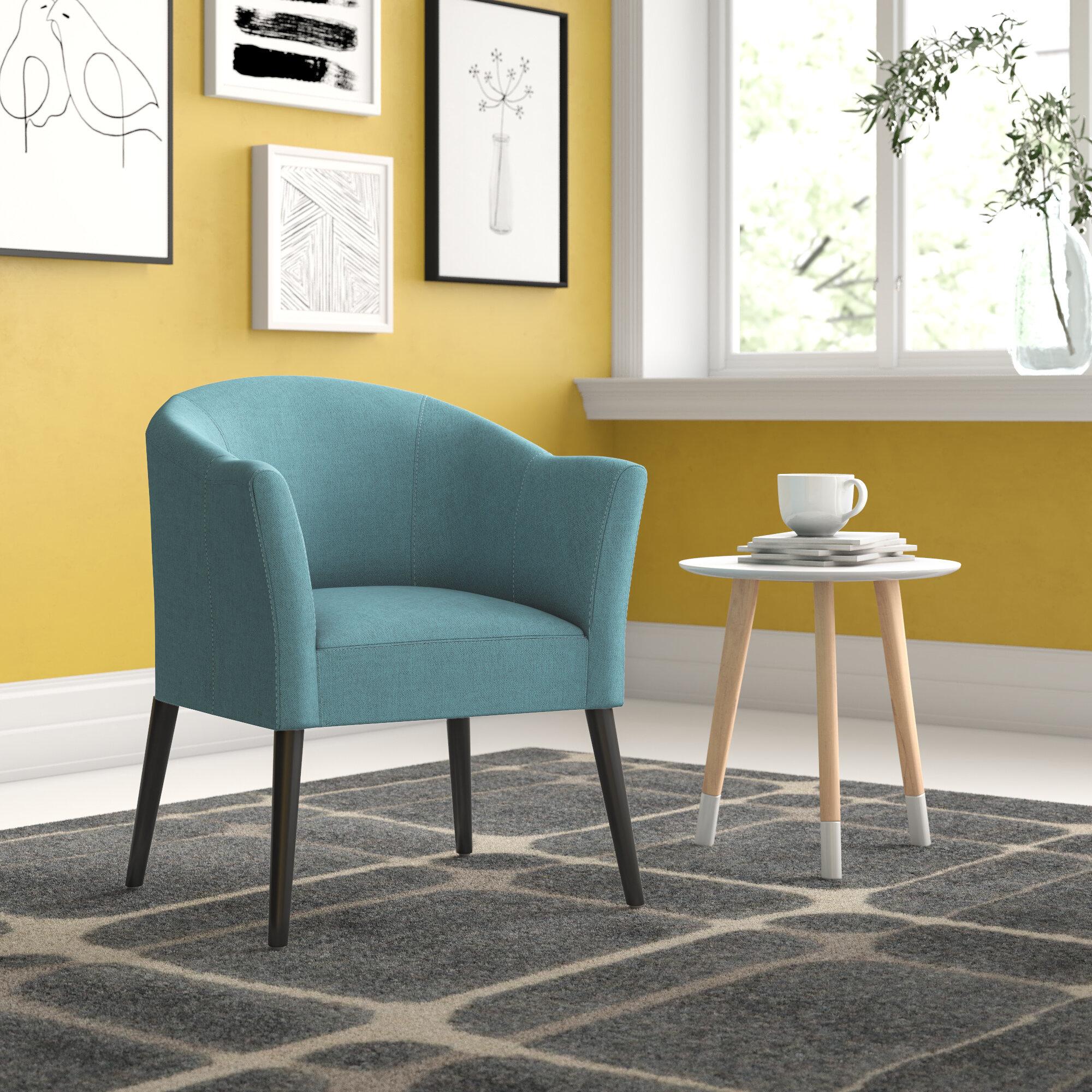 Zipcode Design Magnus Barrel Chair Reviews Wayfair