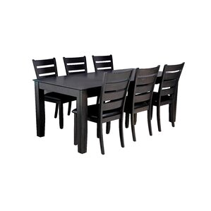 Charlotte 7 Piece Dining Set by TTP Furnish