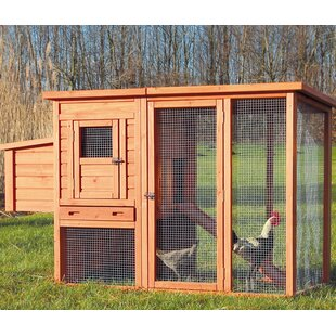 Lowman Trixie Chicken Coop With Outdoor Run