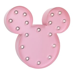 Elegant Minnie Marquee Light Wall Décor