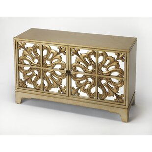 Bungalow Rose Chery Champagne Sideboard