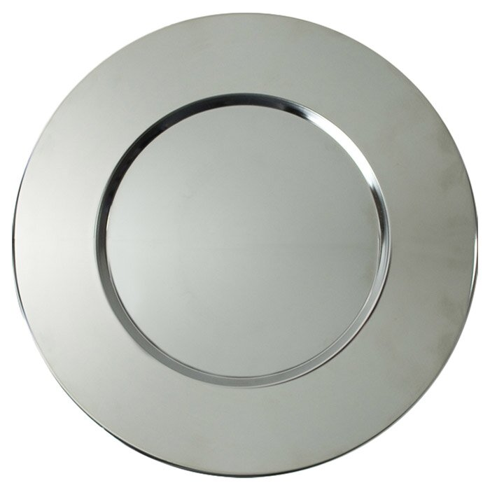 Sterling Stainless Steel Charger Plate Amp Reviews Joss Amp Main