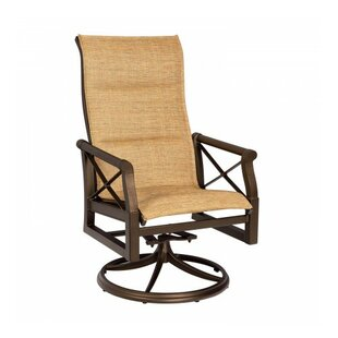 Andover Swivel Patio Dining Chair