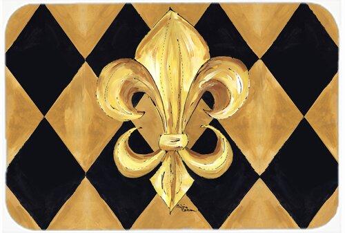 Carolineu0027s Treasures Fleur De Lis New Orleans Kitchen/Bath Mat U0026 Reviews    Wayfair