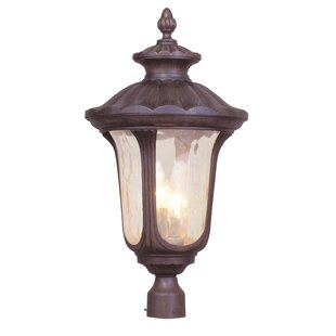 Price comparison Gunnell Outdoor 3-Light Lantern Head By Three Posts