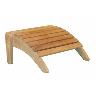 Outdoor Teak Adirondack Ottoman by Jewels of Java
