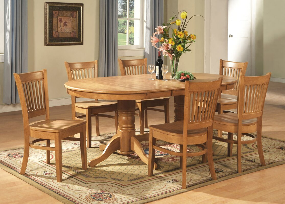 darby home co rockdale 9 piece dining set u0026 reviews wayfair