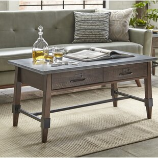 Millwood Pines St Andrews Coffee Table with Storage