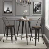 Belisle 3 Piece Bar Height Dining Set by 17 Stories