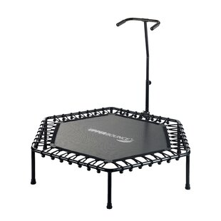 Upper Bounce 4' Hexagonal Fitness Mini Trampoline