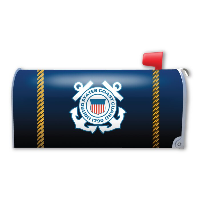 Coast Guard Seal Magnetic Mailbox Cover