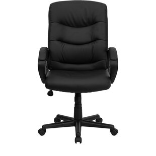Symple Stuff Withyditch High-Back Leather Executive Chair