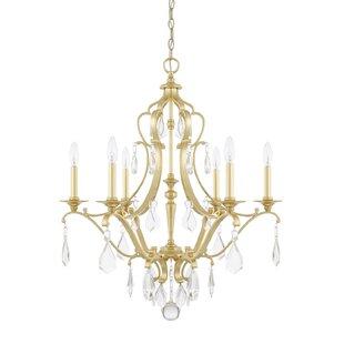 Willa Arlo Interiors Destrey 6-Light Cand..