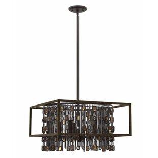 Hinkley Lighting Mercato 5-Light Square/Rectangle Chandelier