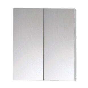 Review Antonelli 60cm X 70.3cm Surface Mount Mirror Cabinet