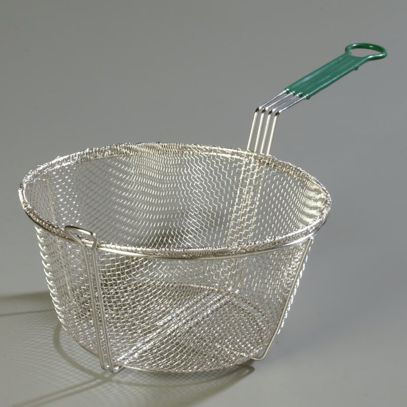 Carlisle Food Service Products Mesh Fryer Basket With Cool Touch Handle Wayfair